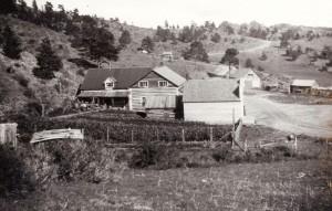 Log Cabin Settlement 1920's