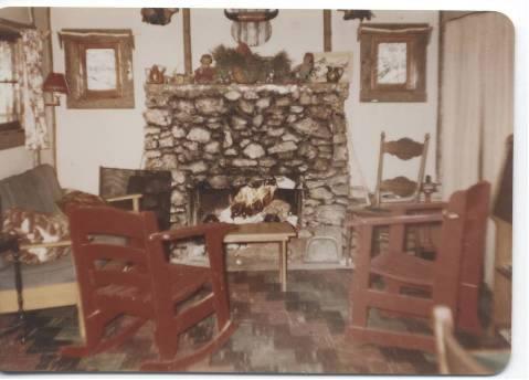 """""""Pawnee"""" cabin interior"""