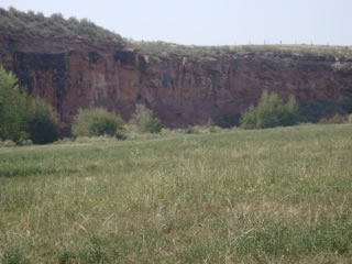 Buffalo Jump Location at Roberts Ranch