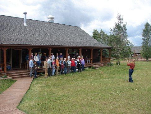 Laramie River Ranch Tour - Group Photo