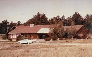 Swanson Ranch home in the 1960's