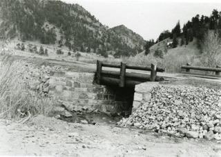 Bridge work done in the area