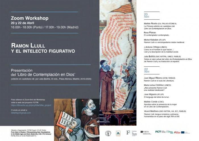 Workshop: Ramon Llull y el intelecto figurativo
