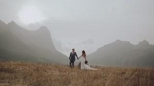 Sarah & Tyler Wedding Banff Canmore