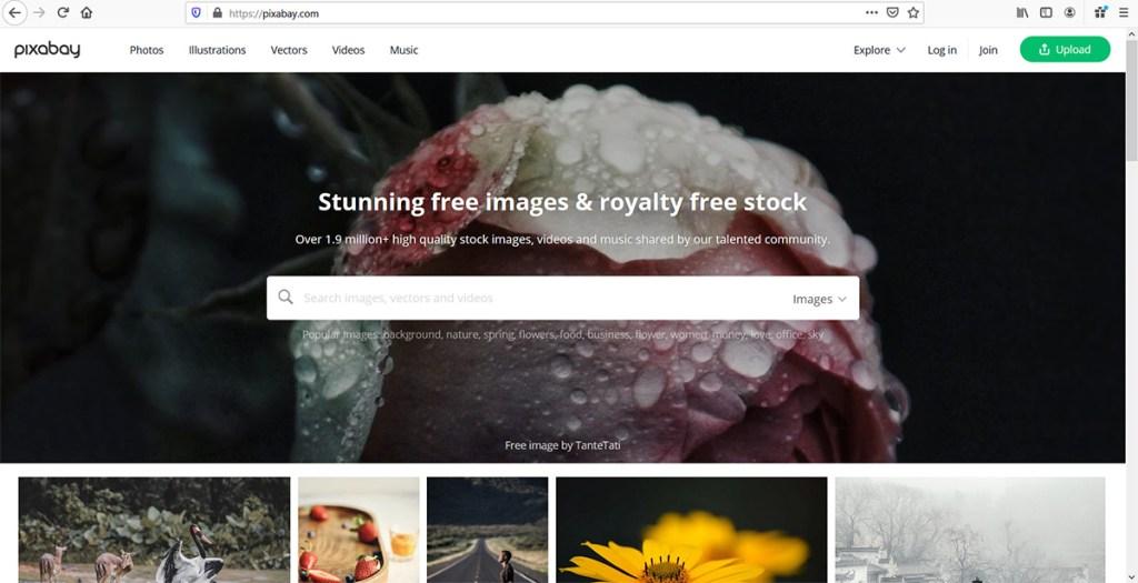 Pixabay Top Blogging Tools