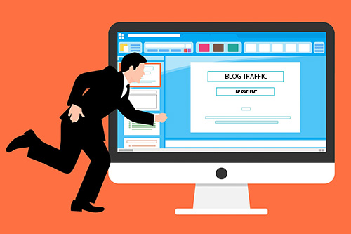 Blog Traffic Be Patient