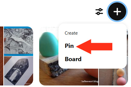 Create Pin Personal