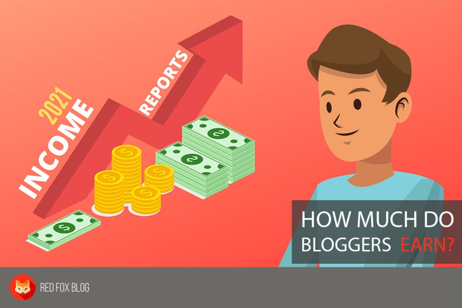 How Much Do Bloggers Earn - 2021 Income Reports