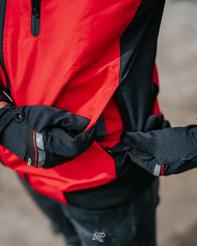 Jaket Motor Redfox Tyrano V2 Waterproof