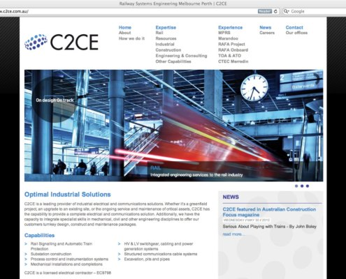 C2CE Melbourne Website Design