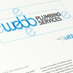 Webb Plumbing Re-branding