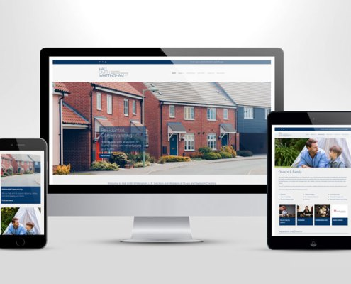 Hall Smith Whittingham - Responsive Website Redesign