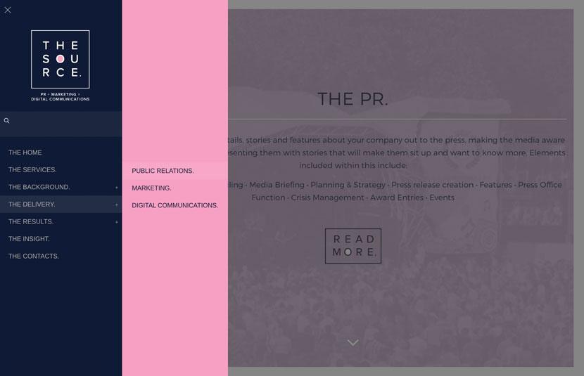 RedFred Creative - Website Redesign