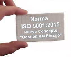 Gestión del Riesgo en ISO 9001