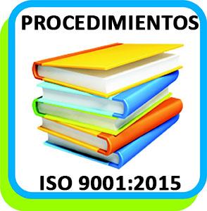 Procedimientos ISO 9001:2015