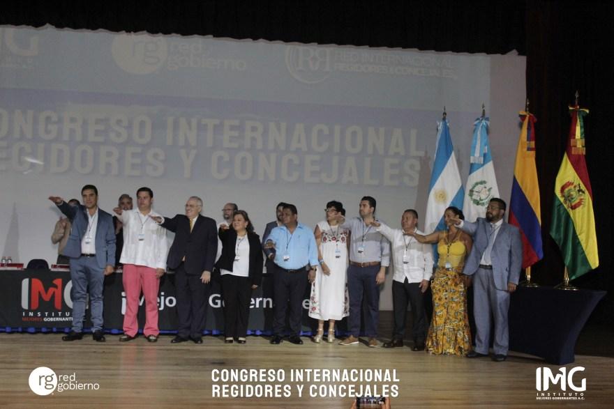 Toma de Protesta de la Red Gobierno a cargo de Rafael Cortés, del INAFED. Instituto Nacional para el Federalismo y Desarrollo Municipal y del Instituto Mejores Gobernantes.