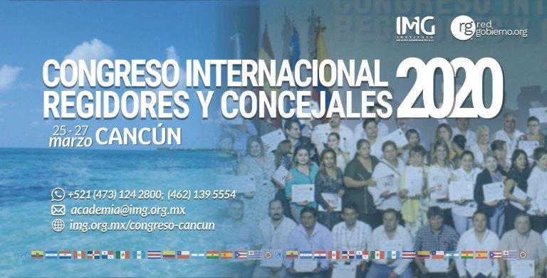 Congreso Internacional Regidores Concejales 2020 Red Gobierno Instituto Mejores Gobernantes
