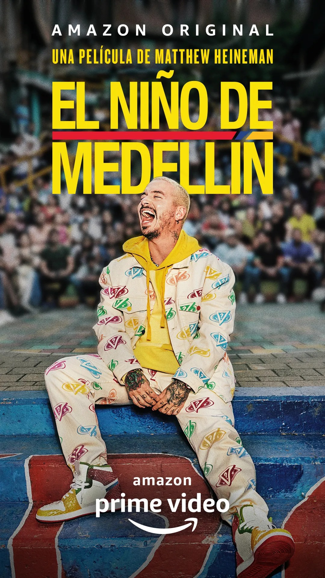J Balvin documental Amazon Prime Video | El Niño de Medellín | Estreno streaming película cantante colombiano | RedGol