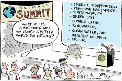 Climate change build a better world