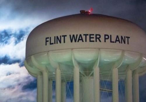 Flint Michigan water poisoning crisis