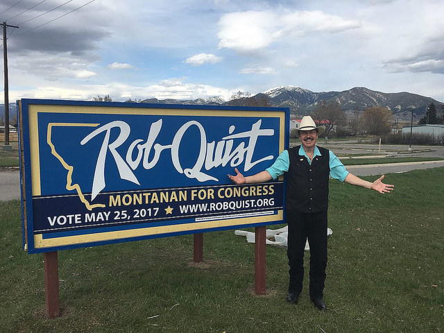 Montana special election - As Bernie Sanders campaigns for Quist, GOP doubles down on Trump