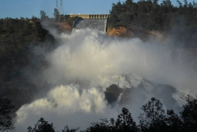 Oroville Dam image by California Nation Guard