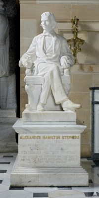 Alexander Stevens, Confederate Traitor in our nations capitol
