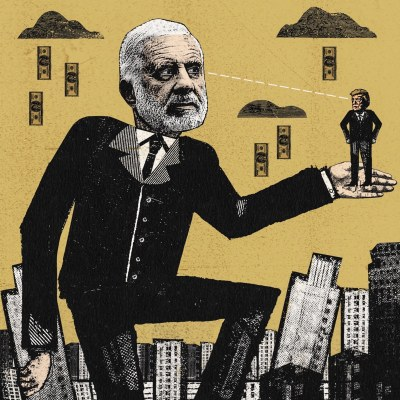 Drain the swamp carl icahn in the New Yorker