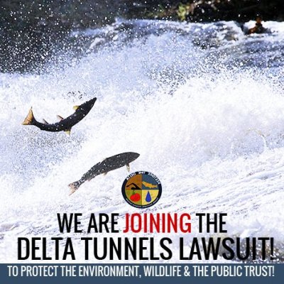 delta tunnels lawsuit restore the delta