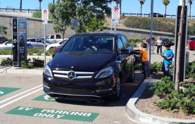 mercedes bclass volta charging. By Kyle Field