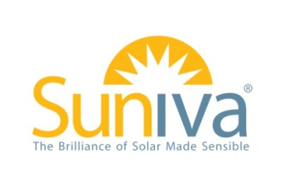 "suniva logo - ""The brilliance of solar made sensible"""