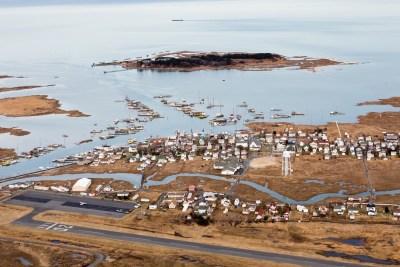Tangier Island sinking into Cheseapeake Bay due to Sea Level Rise