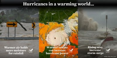 hurricanes in a warming world