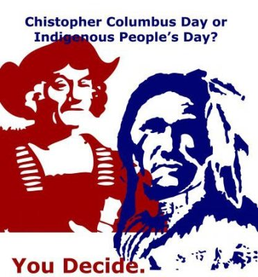 Columbus Day or Indigenous Peoples' day