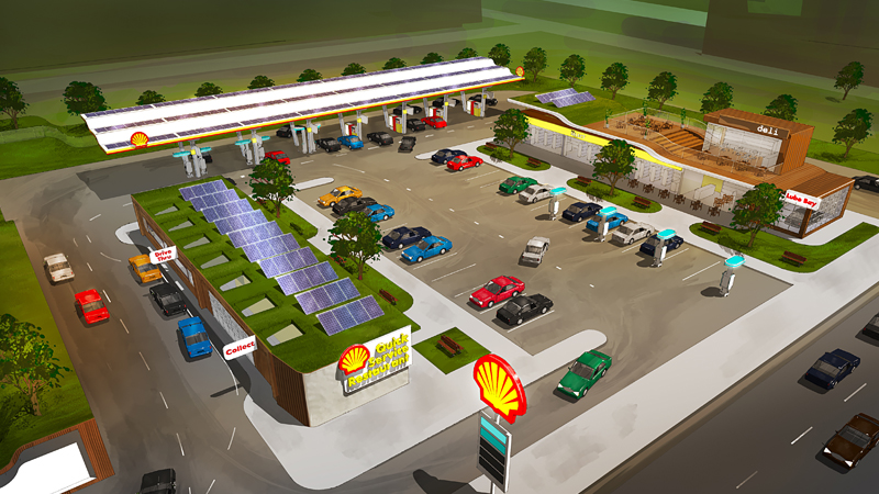 Electric Vehicles: Shell goes all-in on EV charging stations
