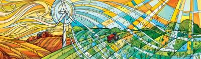 Anni Betts wind power solar farm