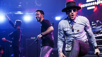 linkin park hired to make noises for Mercedes' electric vehicles