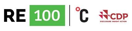 re100 logo climate week NYC