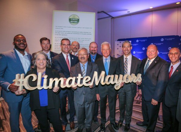 big-city mayors support climate change action (and won reelection)