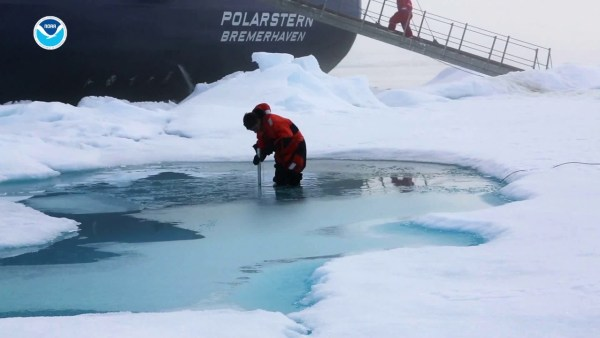 arctic warming at twice the global rate