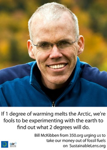 Bill McKibben on climate change