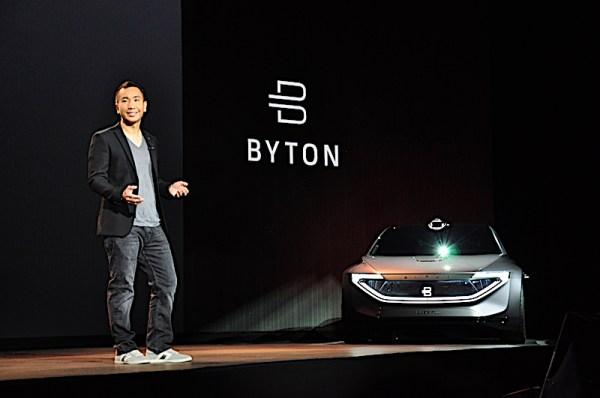 Byton announces M-Byte production at CES 2019