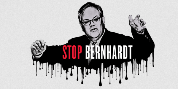 Stop dirty oil lobbyist David Bernhardt from heading the Interior Department
