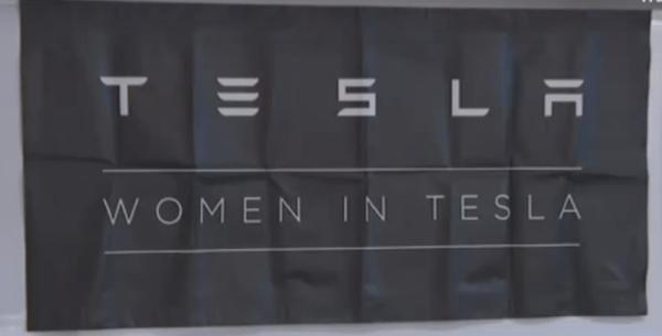 women engineers at Tesla