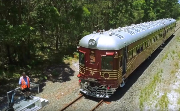 Byron Bay's Solar Powered Train / Fully Charged