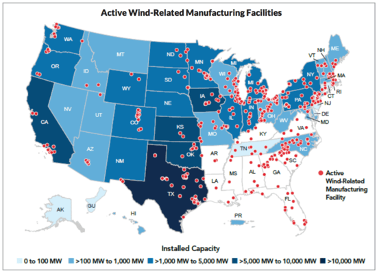 Us wind energy