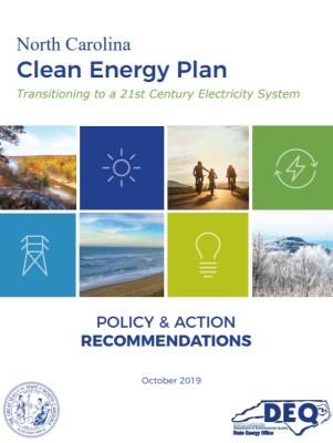 North Carolina clean energy plan - wind
