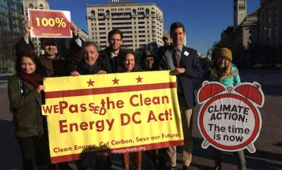 CCL DC clean energy act celebration