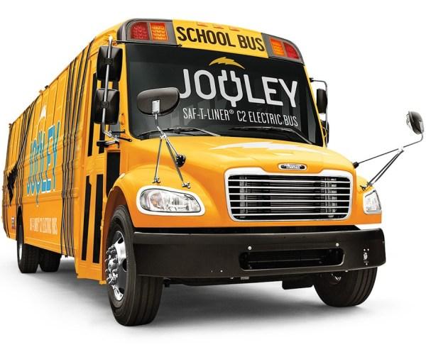 Daimler-Thomas electric jooley schoolbus EV
