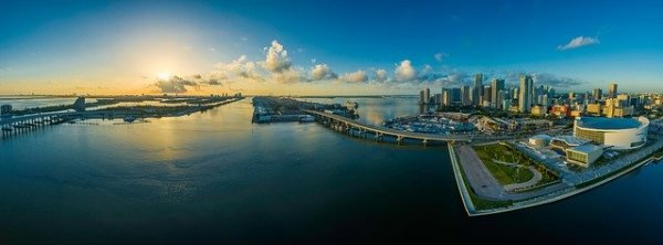 Panorama of Miami, Florida - cities need to adapt
